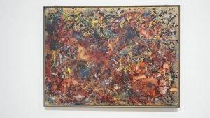 Jackson Pollock - Action Painting